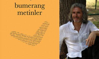 """Bora Ercan'ın """"Bumerang Metinler"""" adlı kitabı raflardaki yerini aldı"""